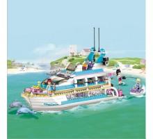 Конструктор Bela Friends Круизный лайнер 10172 (Аналог Lego Friends 41015) 618 деталей