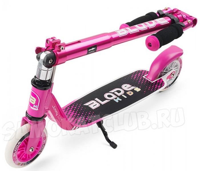 Самокат Blade Sport Jimmy 125 розовый для девочки от 5 лет