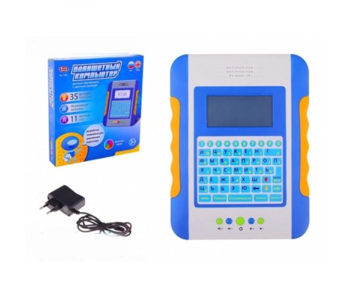 Обучающий планшет-компьютер Joy Toy 7221 с цветным экраном для детей