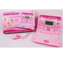 Joy Toy Компьютер обучающий 7297 русско-английский с мышкой и цветным дисплеем, от сети, в коробке 36*25*5