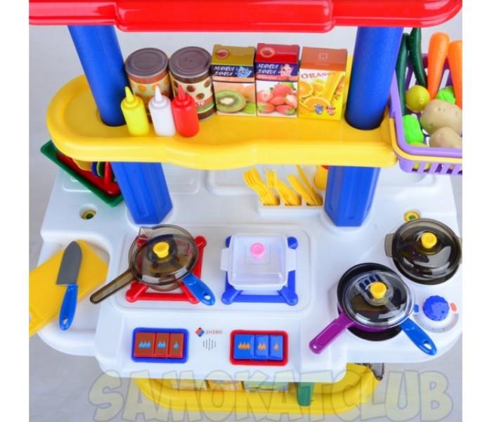 Детская игрушечная кухня ZHIBO многофункциональная