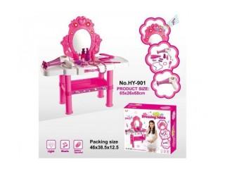Новинка! Туалетные столики для девочек с музыкальным зеркалом и косметикой