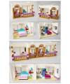 Конструктор для девочек Friends Гранд-отель в Хартлейк-Сити Lepin 01045 (Аналог Лего 41101)