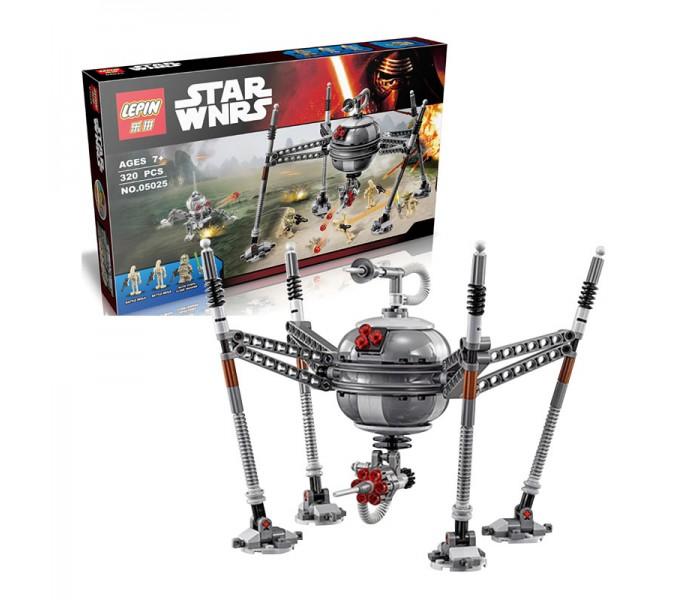 "Конструктор LEPIN 05025 ""Самонаводящийся дроид-паук"", Star Wars аналог LEGO 75142"