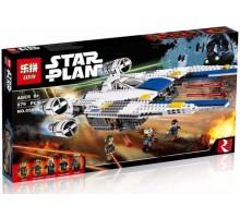 Конструктор Истребитель Повстанцев U-Wing Lepin 05054 аналог Lego 75155 Star Wars