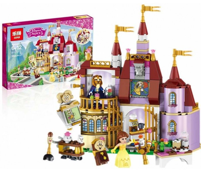 Конструктор LEPIN 01010 Заколдованный замок Белль (Аналог Лего 41067)