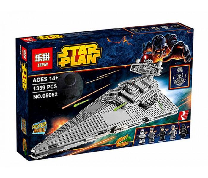 Конструктор Имперский Звёздный Разрушитель LEPIN 05062 (аналог Lego Star Wars 75055