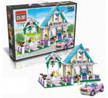 "Конструктор Brick 1129 ""Свадьба"" (совместим с Lego) 632 детали"