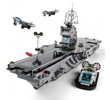 Конструктор Авианосец Brick-113 (990 деталей)