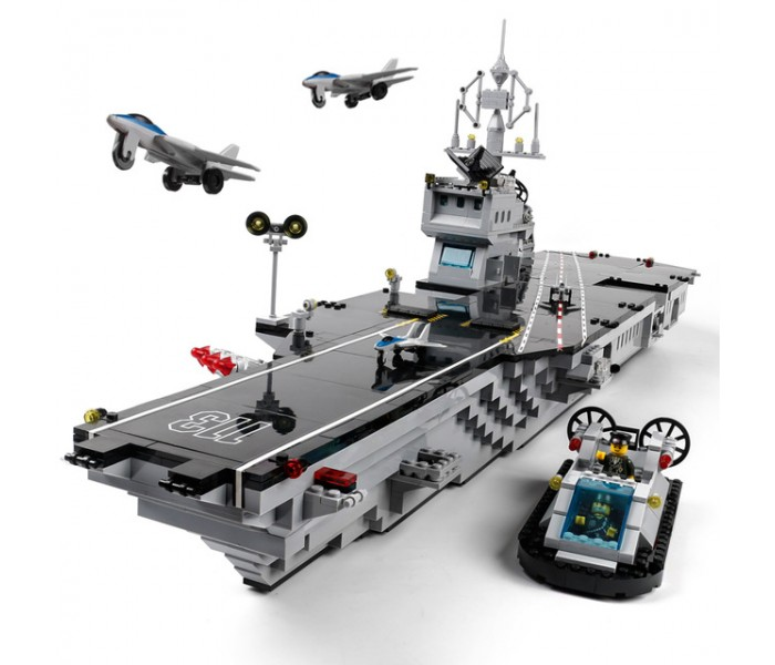 Конструктор Brick 113 Aircraft Carrier (Авианосец Aircraft Carrier) 990 деталей