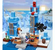 Конструктор Lepin 18025 - аналог Lego 21131 Minecraft Ледяные шипы