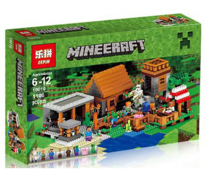 Конструктор Деревня Minecraft Lepin18010 (аналог LEGO Minecraft 21128)