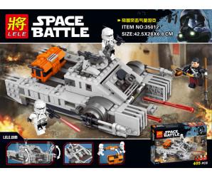 "Конструктор ""Имперский десантный танк"" LELE Space Battle  35012 (Аналог LEGO Star Wars 75152)"