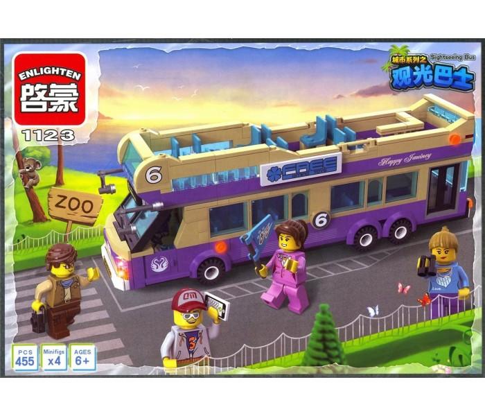 Brick 1123 Конструктор «Экскурсионный автобус» 461 дет.