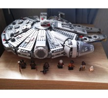"Конструктор Star Wars ""Сокол Тысячелетия"" LELE 79211 - аналог Lego 75105 Star Wars"