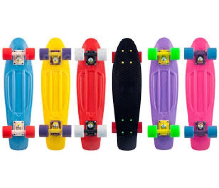 Цветные скейты мини-круизеры