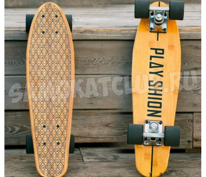 Скейтборд бамбуковый PLАYSHION FS-PS010 22 дюйма
