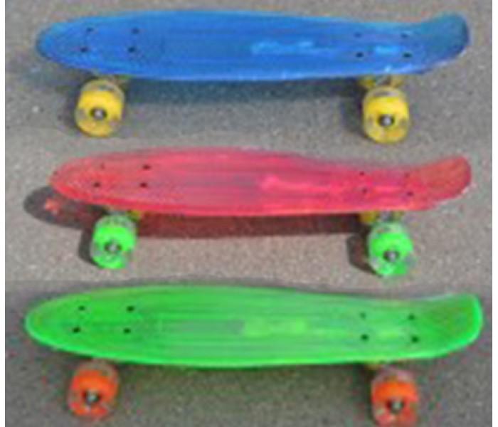 Светящийся скейт 22 дюйма пластборд