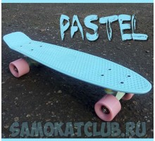 Мини-круизер Fish Skateboards PASTEL голубой