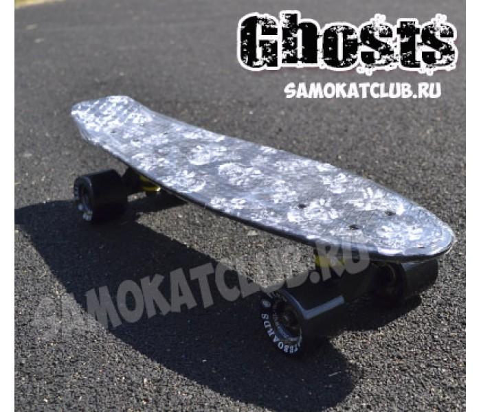 """Скейт Ghost Fish Skateboards. Эксклюзивная серия """"Призраки"""""""