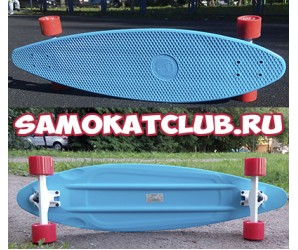 "SALE! Круизер 36"" Fish Skateboards"