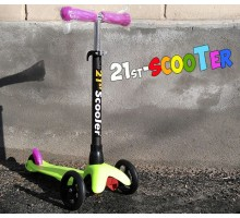 21st Scooter MINI 2017 детский самокат с регулируемой ручкой. От 2-7 лет