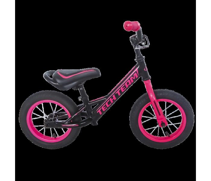 Беговел детский TT Racer черно-розового цвета