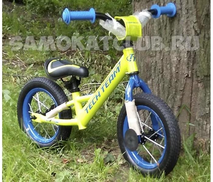 Беговел детский TT Racer салатовый