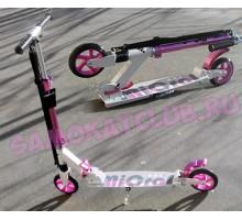 Самокат HELLO WOOD Micron ST1 Pink для девочек и девушек