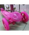 Трехколесный самокат TT RALLY для девочек.  Выдвижная  ручка