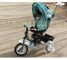 Трехколесный велосипед Techteam 2018 для детей с родительской ручкой
