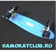 "SALE! Мини-круизер 22"" Fish Board голубой"