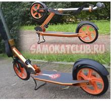 NEW! Самокат RZ scooter 230мм для взрослых с большими колесами