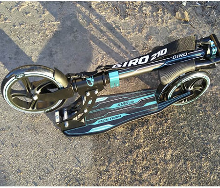 TT GIRO складной самокат для взрослых с большими колесами