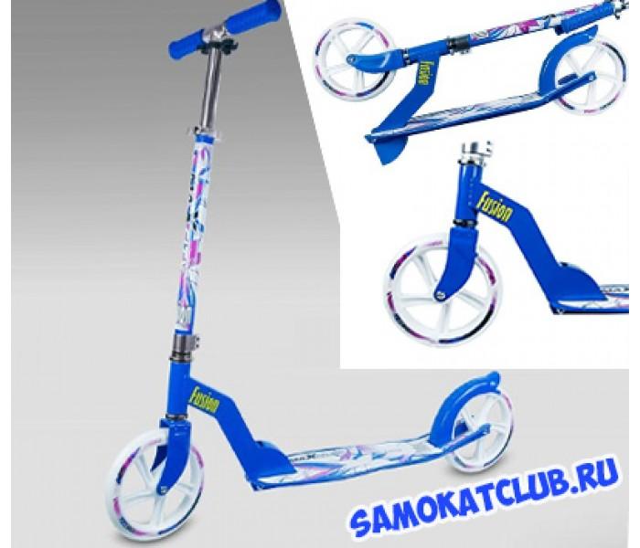 Самокат для взрослых MaxCity MC FUSION BLUE