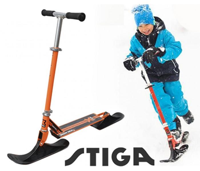 Зимний самокат для детей STIGA Bike Snow Kick