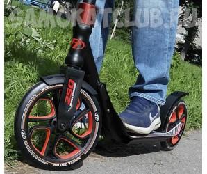 Cамокат TT Avantgarde для взрослых с большими колесами 250мм