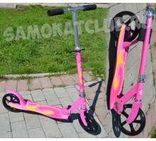 Самокат Scooter 200 розовый для девушек