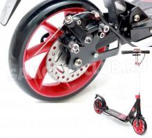 Triumf Active самокат с дисковым тормозом (красный)
