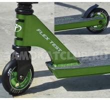 Трюковой самокат Techteam FURY 2017 (зеленый)