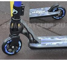 Трюковой самокат Techteam HAWK 2017 синий