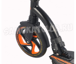 Cамокат Tech Team TT CROSSER 2018 с амортизатором (оранжевый)