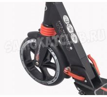 Самокат TechTeam TT City Scooter 2018г черный с 2-мя амортизаторами