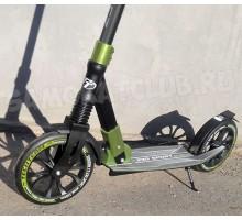 Techteam TT 230 Sport 2018 самокат с большими колесами и амортизатором (Зеленый)