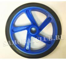 Колесо для самоката 200 мм синее без подшипников