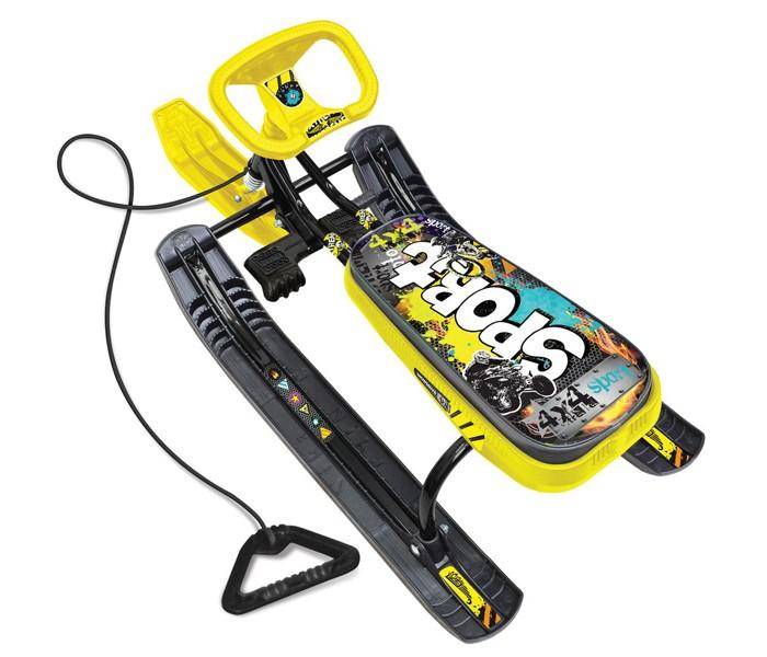 Снегокат Граффити желтый для детей и подростков