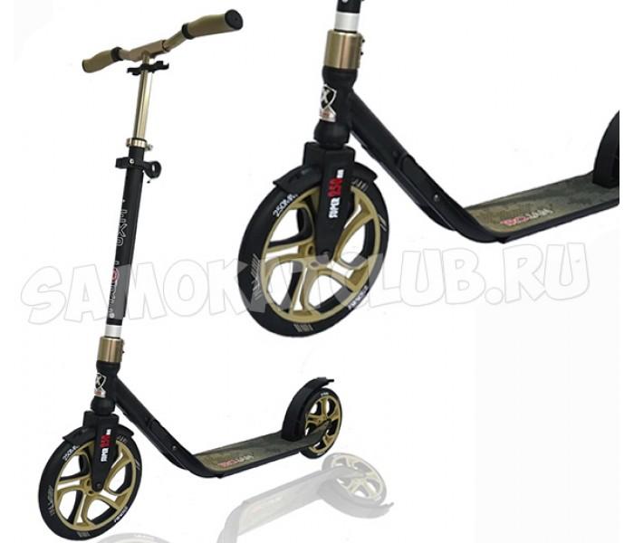 Самокат Trojan Explore с огромными колесами для взрослых (черный)