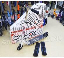 Cамокат на лыжах 2в1 Ateox City PRO (белый)