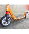 Самокат ATEOX PRIME 300 оранжевый с большими надувными колесами + ПОДАРОК