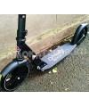 Самокат для школьников Ateox STYLE 200 черный с большими колесами 200мм